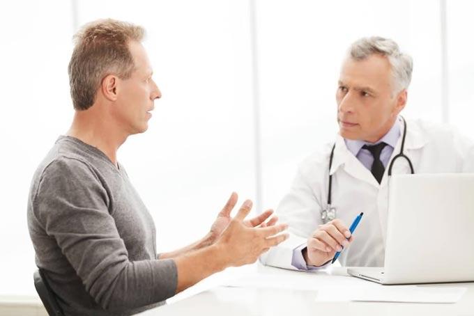 на приеме у врача венеролога