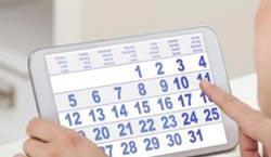 Календарь овуляции при различной длине цикла