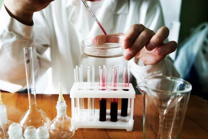 анализ образца спермы