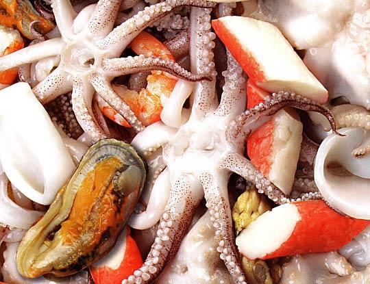 морепродукты при миоме