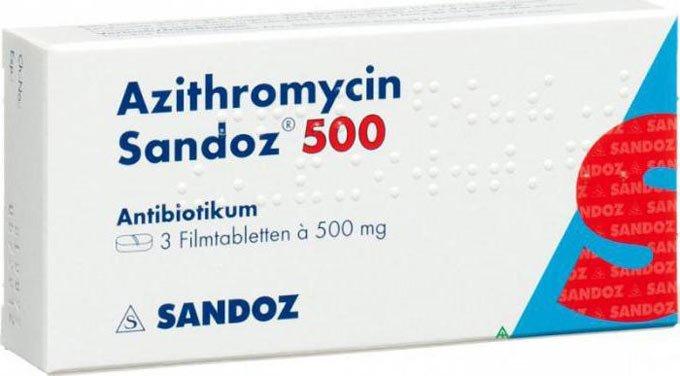 Азитромицин при хроническом хламидиозе