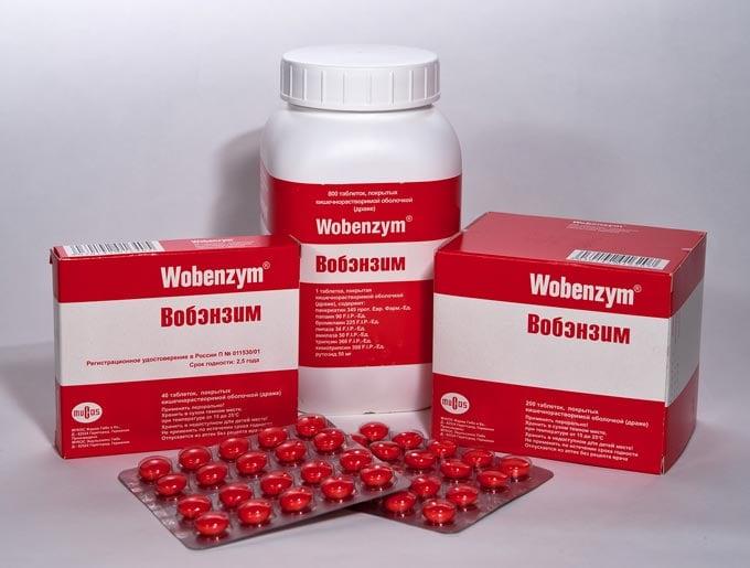 Вобэнзим для спермы