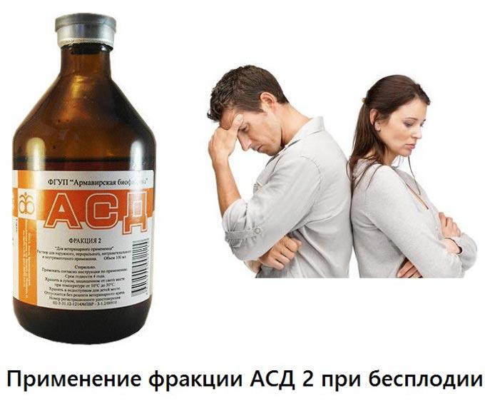 АСД 2 при бесплодии