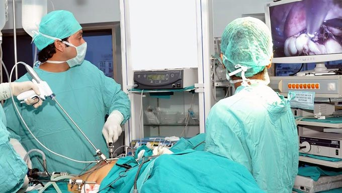 лапароскопия по удалению кисты яичника