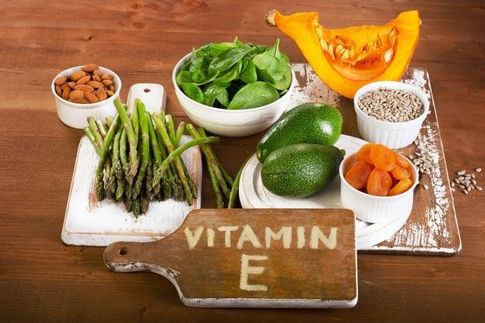 содержание витамина Е в продуктах