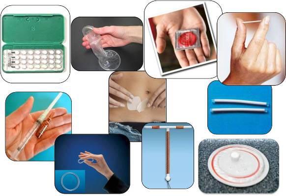 барьерные средства контрацепции