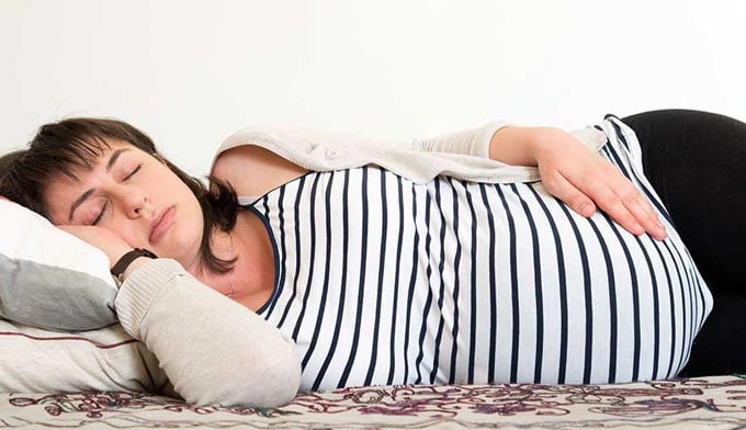 как заснуть при беременности