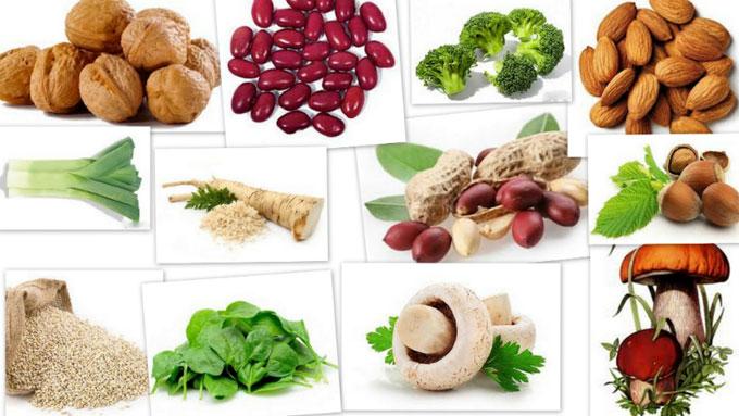 природные источники витамина B9