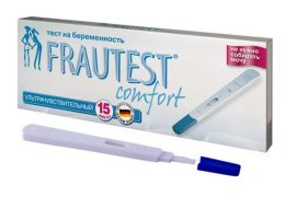 Обзор линейки тестов на беременность Фраутест