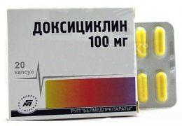 Способы применения и дозировки Доксициклина